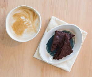 Brownie and Latte